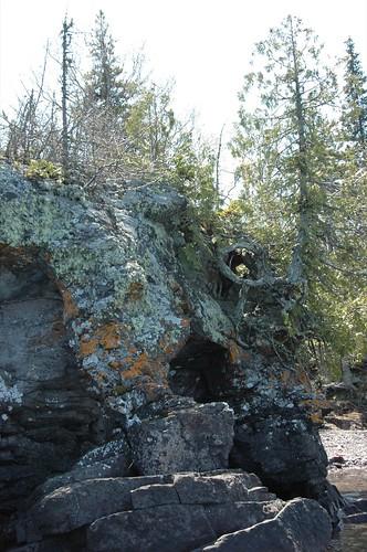 Raspberry Island sea arch