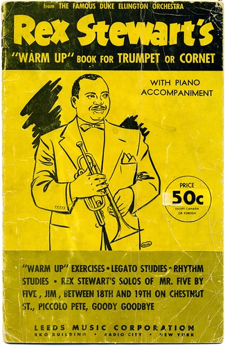Rex Stewart's Warm Up Book for Trumpet or Cornet