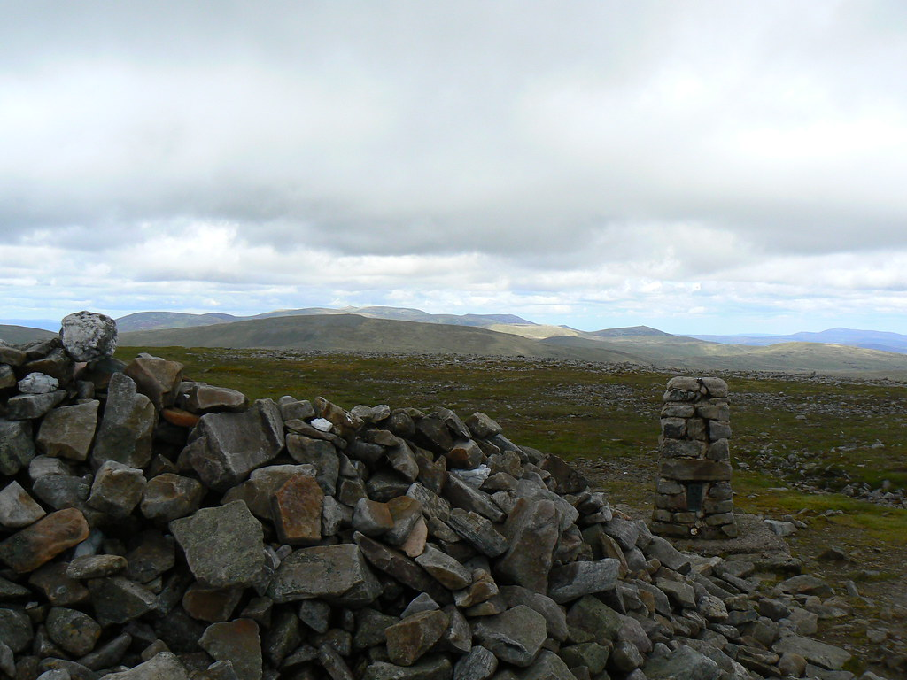 Summit of Glas Maol
