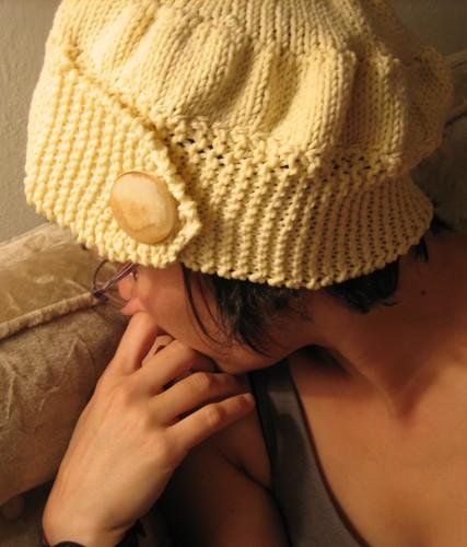 080629. creampuff hat.