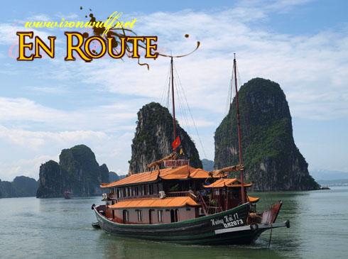 Ha Long Bay Junk Approaches