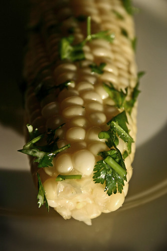 Lime & Cilantro Corn on the Cob