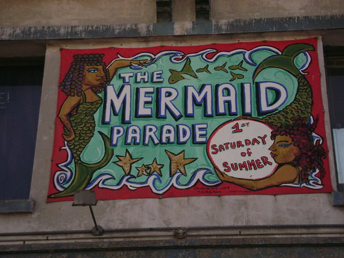 Mermaid Parade Sign