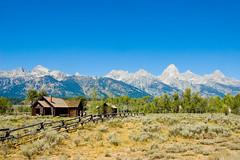 Grand Tetons (joshbousel) Tags: travel usa mountains nature nationalpark unitedstates unitedstatesofamerica wyoming grandtetons wy grandtetonnationalpark churchofthetransfiguration