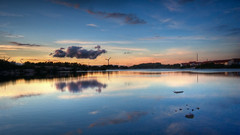 Submerged in suburbia part II | HDR (u n c o m m o n) Tags: sunset sun reflection sweden sverige hdr uncommon photomatix tonemapped marcusclaesson darnthatsanhighisosettingiused