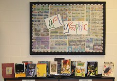 Get Graphic (nataliesap) Tags: comics display books highschool comicbooks graphicnovel practicum gn bookdisplay liblibs unihigh