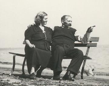 Grandma and Grandpa Kaminski