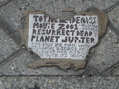 Toynbee tile, Broad St. and Chestnut