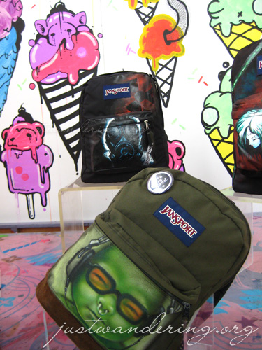 Jansport: Music, Tats and Flowers