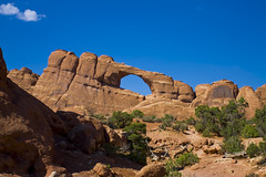 Skyline Arch (Michael Zahra) Tags: bridge orange usa rock stone america utah arch moab geology archesnationalpark excapture mg4474ps001