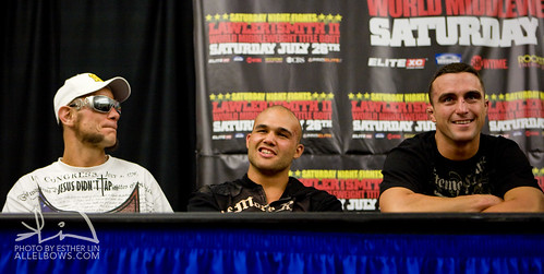 Thomas Denny, Robbie Lawler, and Scott Smith