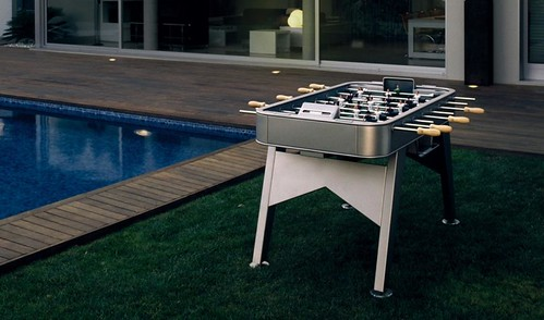 stainless steel foosball outdoor table