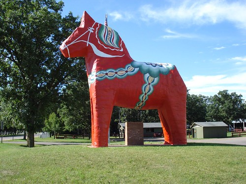 World's Largest Dala Horse