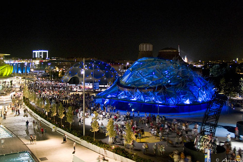 Expo Zaragoza 2008. Vistas generales por Asemta