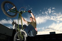 Reach for the sky (aspott) Tags: sky bmx action chasejarvishanger2 chasejarvishangar2 andrewspott