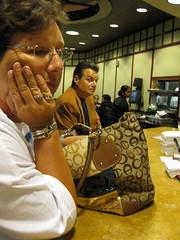 The Villain (kittiegeiss) Tags: woman jewelry stranger purse villain