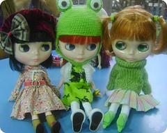 Anaïs, Valentina e Columbia