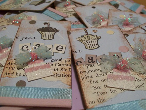 Speckled-Egg's Birthday Tag Book Swap