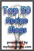 Top 50 Recipe Blogs