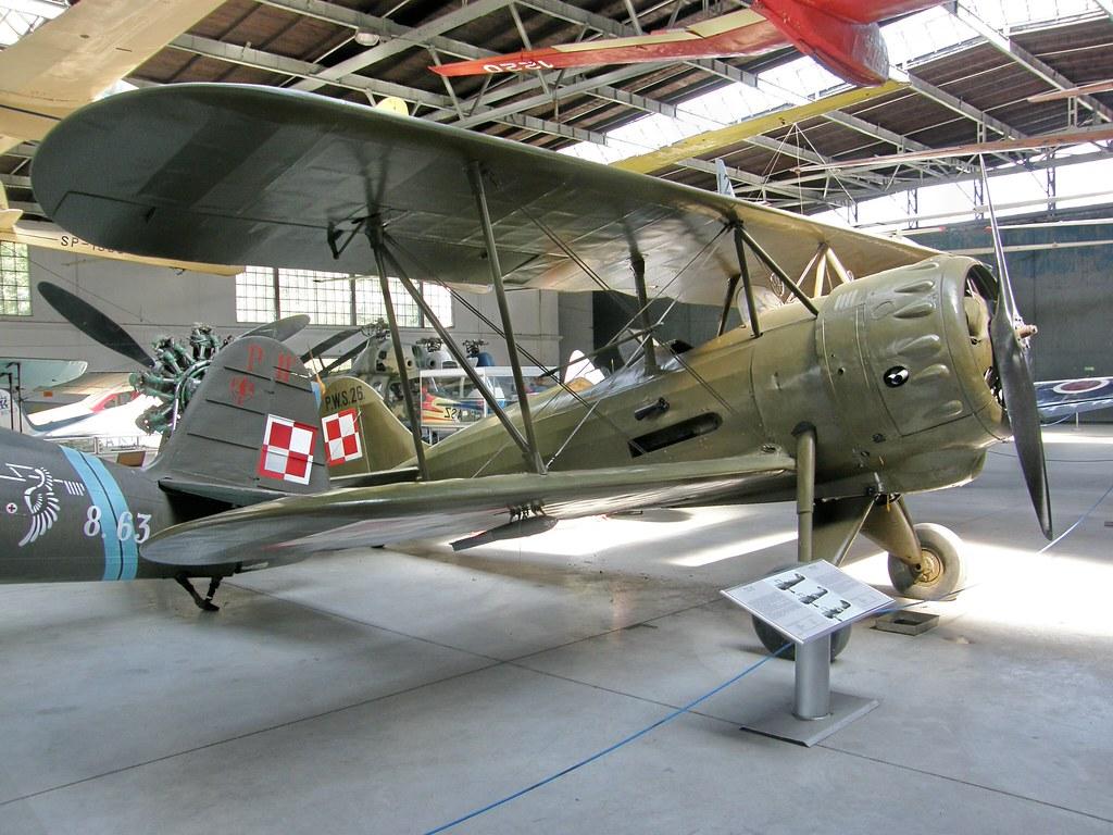 PWS-26 , Kraków Aviation Museum 31.07.2008
