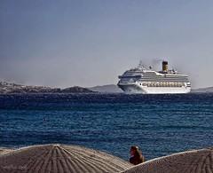 e la nave va ... (campru) Tags: greekislands mykonos mediterrania martima creuer mediterranenan lucisarts theperfectphotographer