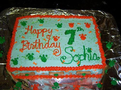 Sophia's 7th Cake