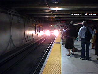 Daly City Train Approaching ...