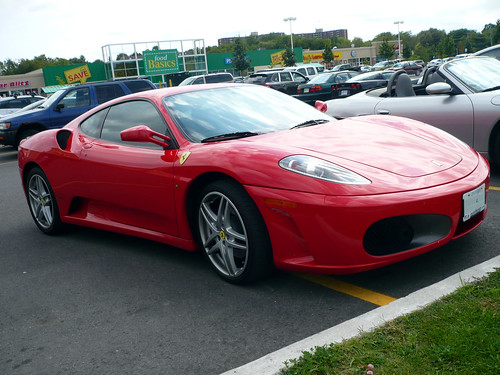 The return of the Ferrari F430.