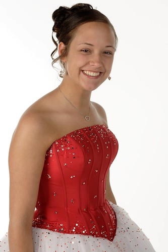 VIP in Prom Dress