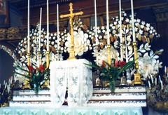 880630 Mangereva church inside (rona.h) Tags: church june 1988 cloudnine ronah gambierislands mangereva vancouver27 bowman57