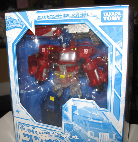 2008 Tokyo Toy Fair Henkei Crystal Convoy
