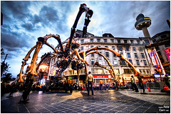 La Machine - La Princesse in Liverpool City Center (petecarr) Tags: liverpool spider lamachine laprincesse