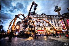 La Machine - La Princesse in Liverpool City Center (petecarr) Tags: liverpool spider lamachine laprincesse