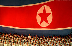 DPRK National day. (ShanLuPhoto) Tags: day kim flag north games korea il communism national gymnastics leader mass dear socialism jong pyongyang sung dprk  arirang