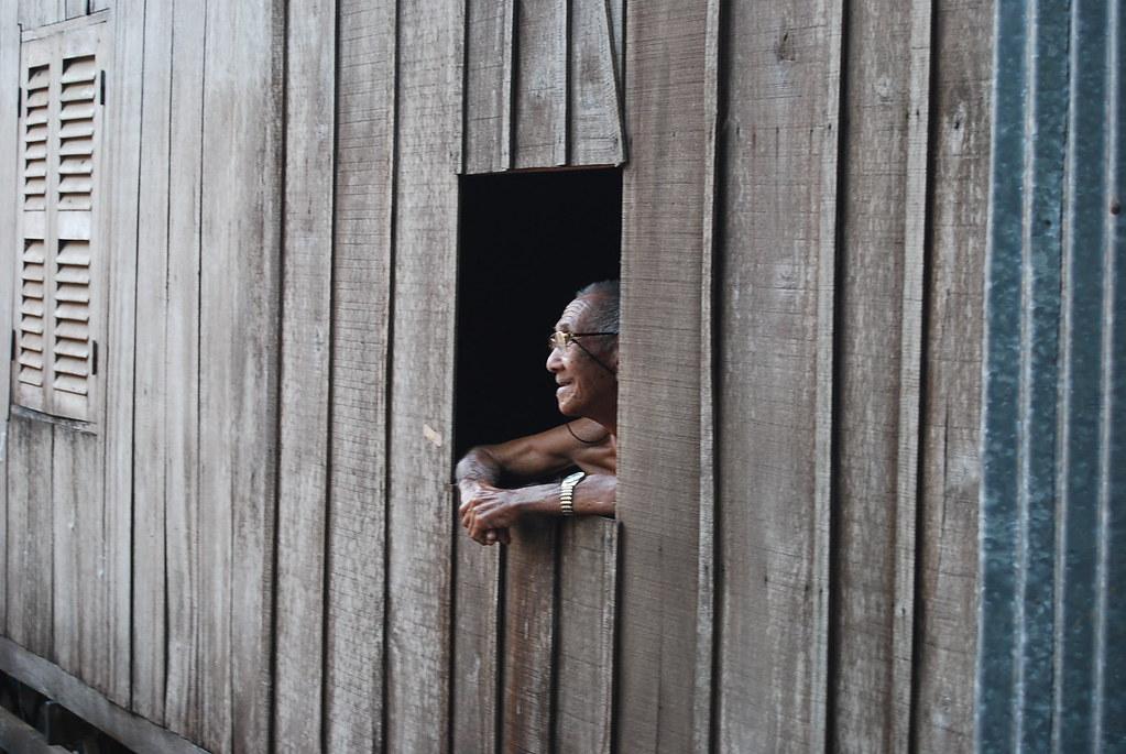 Poblado Flotante Cham sobre el Delta del Mekomg