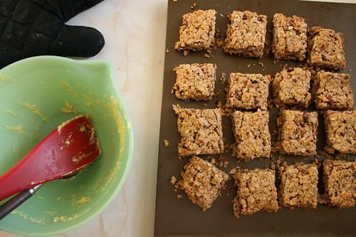 Homemade Oatmeal Bars/Squares