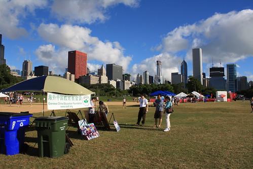 OCEF Chicago half-marathon