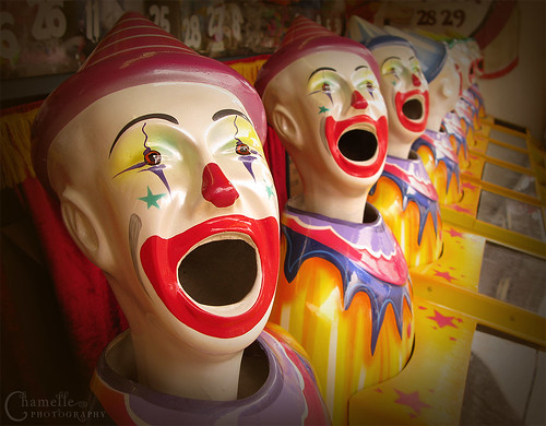 Laughing clowns - fair game