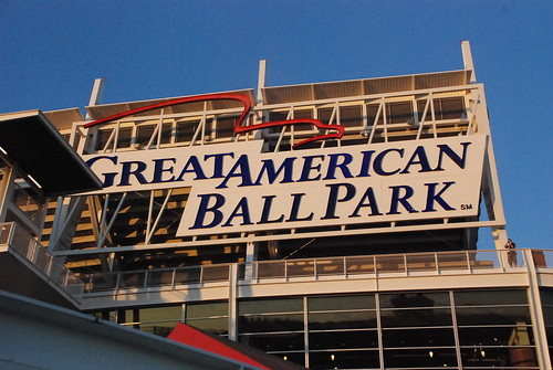 Great American Ball Park by IndyDina with Mr. Wonderful.