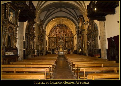 iglesia de Luanco. Gozón