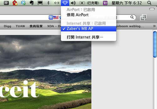 OS X Internet Sharing 6