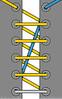 шнуровка по длинной диагонали