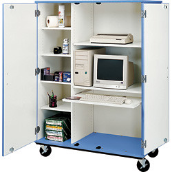 Mobile Storage Cabinet (Highsmith)