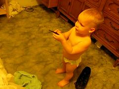 Shooting1 (DigitalDarling) Tags: chad diaper kameron toddler2