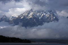 Nature's Frame (naturesviews) Tags: mountains tetons