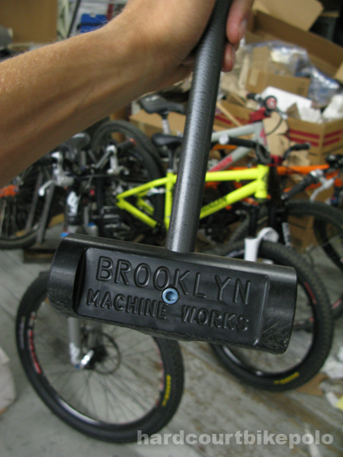 Brooklyn machine works bike polo mallet