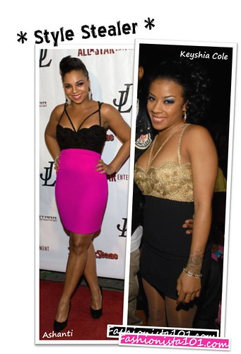 Ashanti celebrated her bday bash on Monday night, at Area Nightclub, in West ...