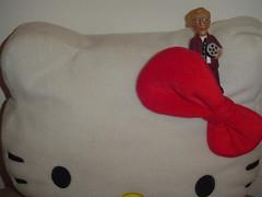 Where's Woody? 4 (ana_feliciano) Tags: house hellokitty boredom pillow figurine almofada woodyallen