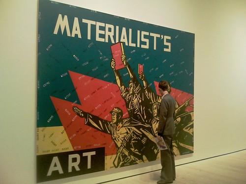 Materialist's art