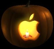 Jack O'Lantern Screen Saver ~ Apple